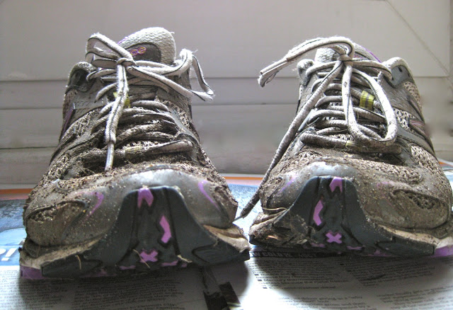 Worn out Running Shoes