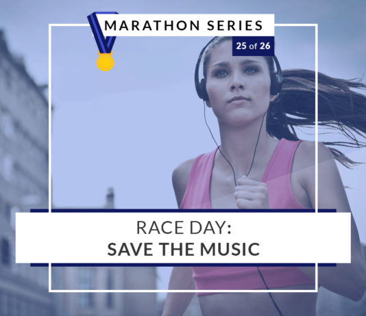 Race Day: Save the music