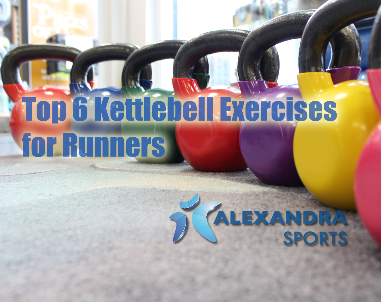 Top 6 Kettlebell exercises for runners