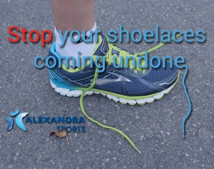 Stop your shoelaces coming undone