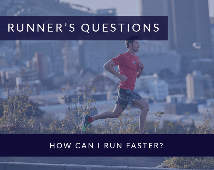 How can I run faster?