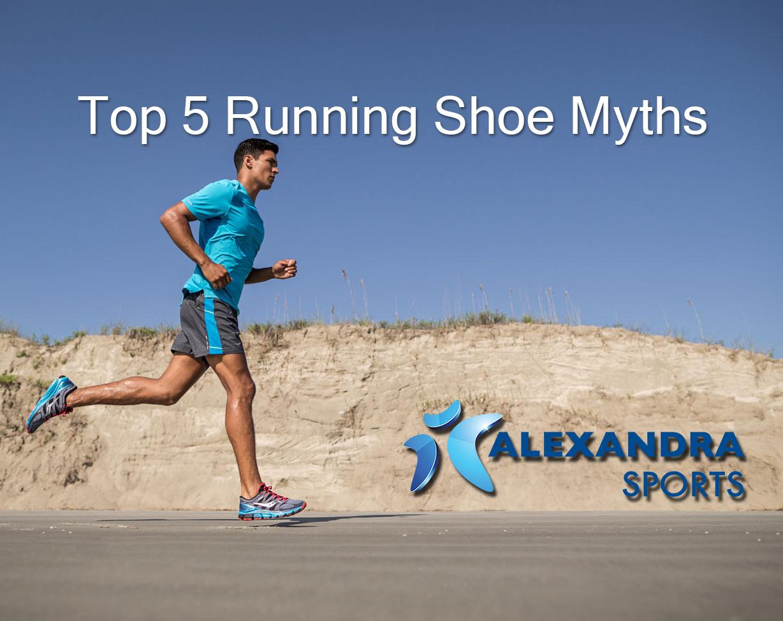 Top five running shoe myths
