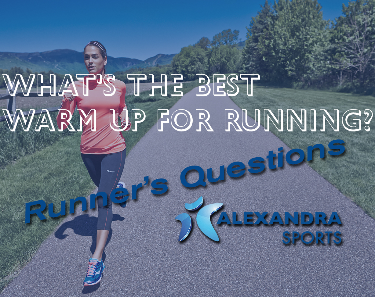What's the best warm up for running?