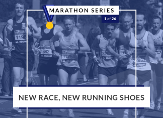 New Running, New Shoes | 1 of 26 Marathon Series