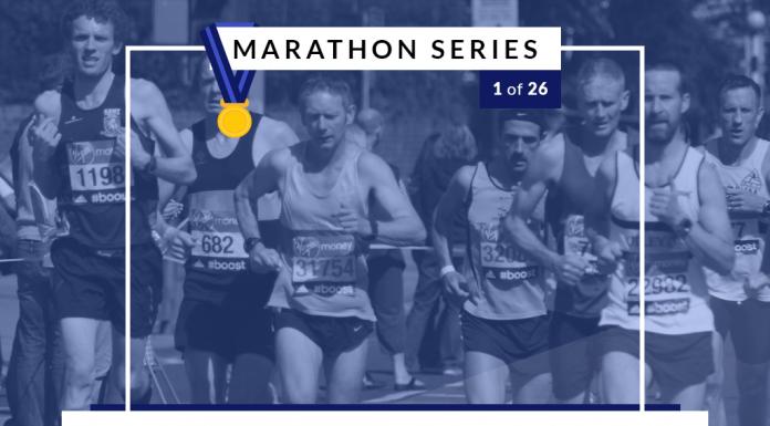 New Running, New Shoes | 1 of 26 Marathon Series
