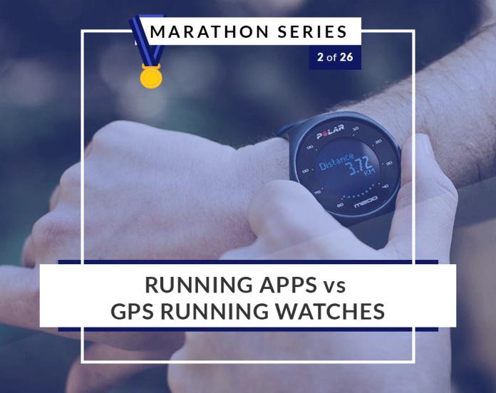 running apps vs. running watches | 2 of 26 Marathon Series