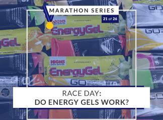 Race Day: Do Energy Gels Work?   21 of 26 Marathon Series