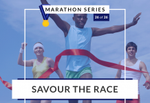 Savour the race | 26 of 26 Marathon Series