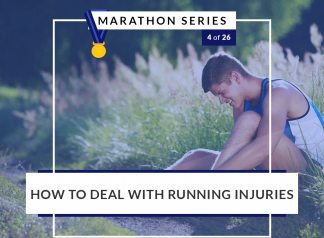 How to deal with running injuries | 4 of 26 Marathon Series