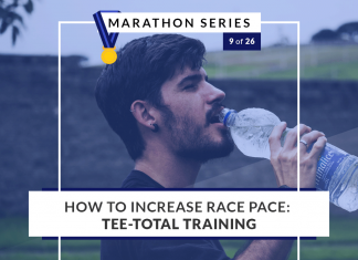 How to increase race pace: tee-total training | 9 of 26 Marathon Series