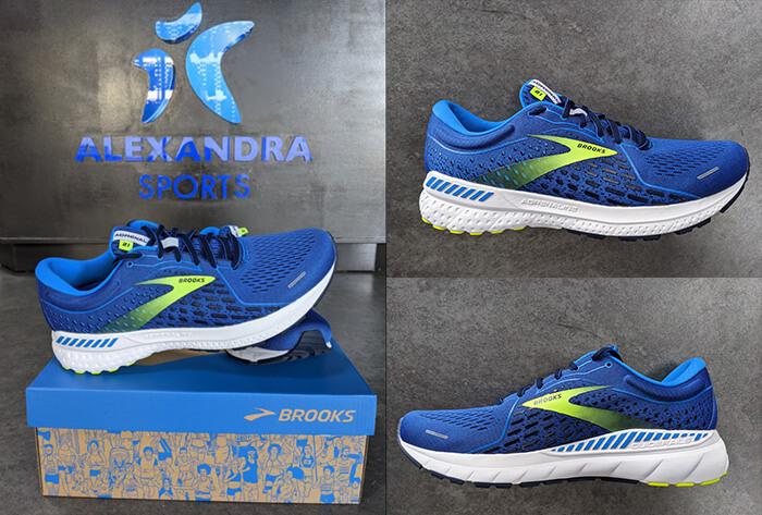 Brooks Adrenaline GTS 21 Running Shoes at Alexandra Sports