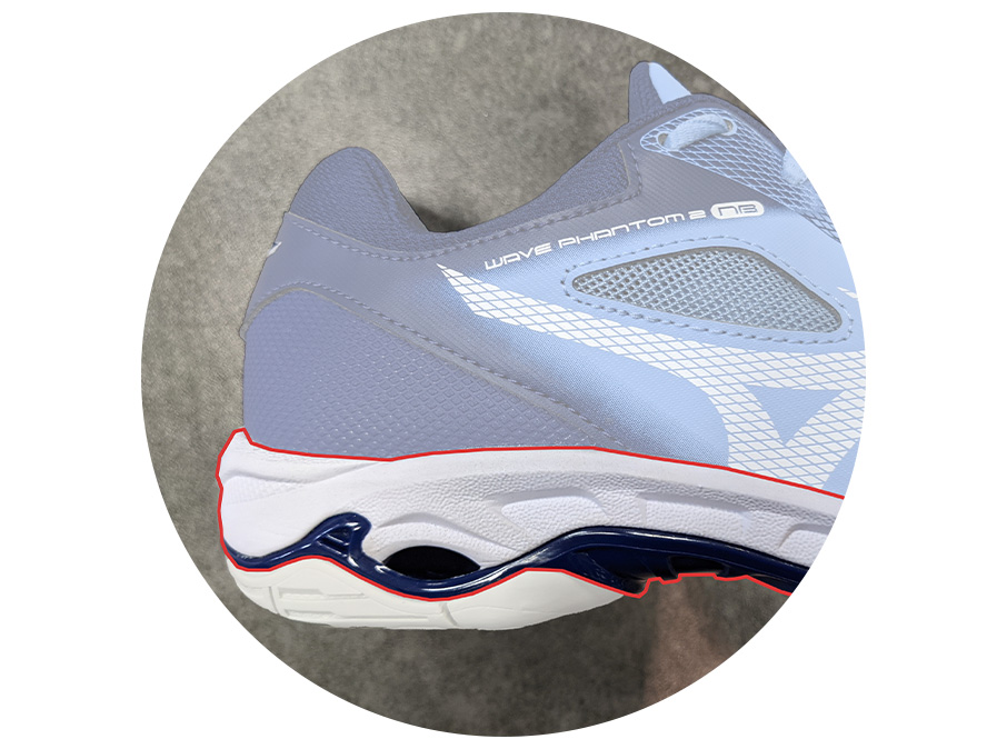 Netball Shoe Midsole