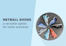 Netball Shoes a home workout option
